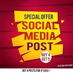 """dynamisers on Instagram: """"Get one social media post free when you buy 4. ;) #offers #sale #grabnow #social #media #dynamisers #saleopen #happy #easy #free #giveaway…"""""""