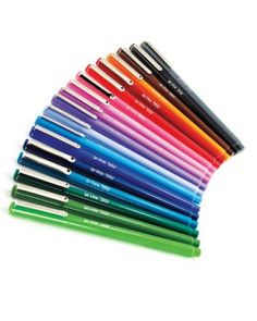Martha Stewart's preferred pens, LePen Markers - ooh, so fun for taking notes and writing loved ones!