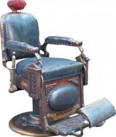 Antique And Vintage Barbers Chair