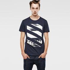 G-Star RAW | Hommes | T-shirts | Radcord Regular T-shirt , Saru Blue