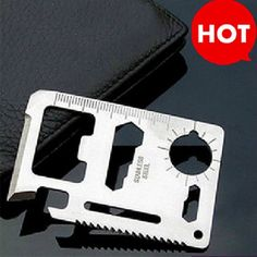 Brand New 11 in 1 Multifunction Multi Credit Card Survival Knife Camping Tool
