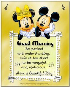 Morning Images · Disney Quotes · Gotta Love Some Mickey And Minnie