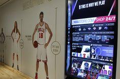 Inside the NBA store. Inside The Nba c8be62ae7