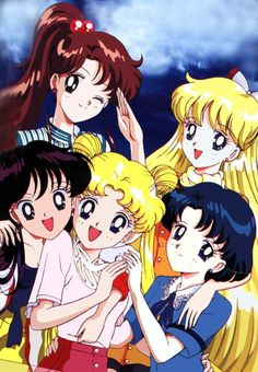Something I'll never grow out of. Sailor Moon my #1 favorite tv show as a kid....and now lol