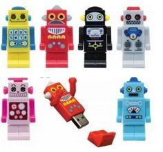 Robot USB drives