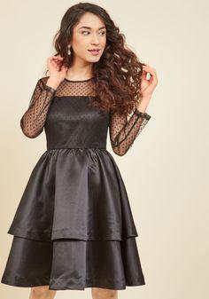 Statement Innovator A-Line Dress