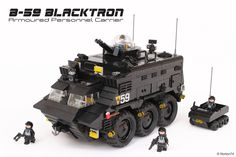 B-59 | Blacktron Armoured Personnel Carrier | by Andrea Lattanzio