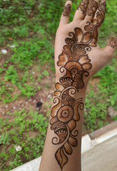 Latest Arabic Mehndi Designs, Back Hand Mehndi Designs, Full Hand Mehndi Designs, Stylish Mehndi Designs, Henna Art Designs, Mehndi Designs For Beginners, Mehndi Designs For Girls, Mehndi Design Photos, Beautiful Mehndi Design