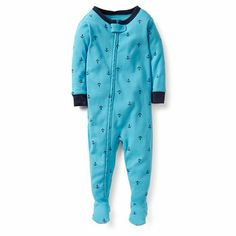 Anchors Snug Fit 1 piece PJs - - Carter's