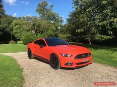 Ford Mustang 2.3 EcoBoost with Custom Pack Limited Edition Competition Orange #ford #mustang #forsale #unitedkingdom