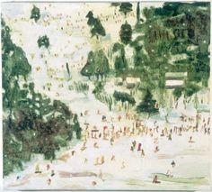Peter Doig Ski Jacket 1993 Oil on canvas