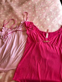 Lot of 2 Victorias Secret Sleepwear #VictoriasSecret $5.00 + $7.40