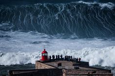 Watch Nazaré go mega! - via Red Bull 06-03-2017 | Big Wave Surfing Nazare *video* It's been a winter of dangerously big swells, but this one took things to the next level. #portugal #surf #travel #PortugueseWaves