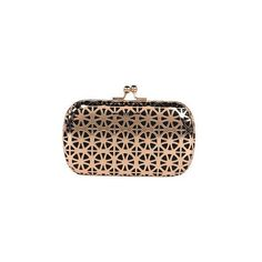 Urban Expressions Laser Cut Clutch (£44) ❤ liked on Polyvore