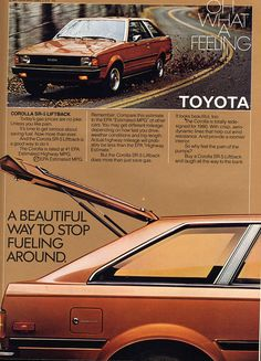 1980 Corolla Ad     I had one and loved it