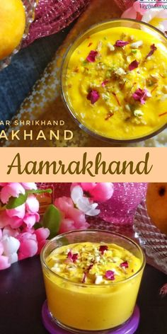 How to make Mango Kesar Shrikhand | Aamrakhand Recipe with step by step photos. Relish your taste buds with this Mangolicious treat. Aamrakhand is an absolute summer delight. It is very delicious and refreshing during hot summer days. It is made with strained curd, mango puree and flavored with saffron and cardamom powder. #Aamrakhand #Shrikhand #mangoes #mangoseason #foodblogger #foodblogfeed #yummlicious #summerrecipe #thekitchn #thefeedfeed #indianrecipes #indiankitchen Mango Puree, Cardamom Powder, Indian Kitchen, Summer Days, Sweets Recipes, Indian Food Recipes, Indian Sweets, Taste Buds, Summer Recipes