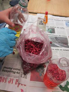 Runde's Room: A Little Bit of Blood and Gore ... Make Your Own Blood - a perfect science activity for October