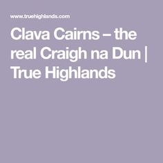 Clava Cairns – the real Craigh na Dun | True Highlands