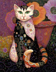 Kleo Kats — Marjorie Sarnat – Artist
