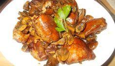Kipdijfilet Met Pancetta Champignons Balsamico En Honing Uit De Oven recept | Smulweb.nl