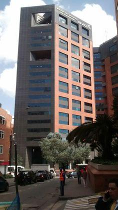 Edificio Bolsa de Valores de Colombia, en la zona financiera de Bogotá.