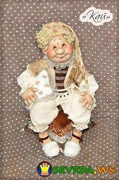 Авторская кукла Нины и Светы Михайловых