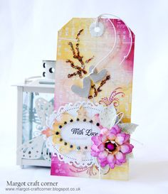 "Challenge ""Ink"" Tag - MARGOT CRAFT-CORNER"