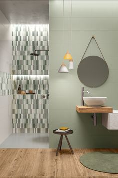 Barn House Design, Terrazzo, B & B, Beach House, New Homes, Cottage, Interior Design, Bathroom, Wall