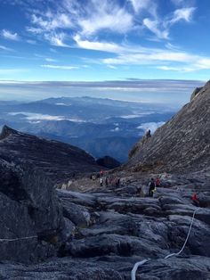 Malaysia Travel Inspiration - Kota Kinabalu Summit, Kota Kinabalu, Malaysia - Mount Kinabalu-...