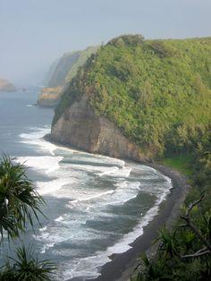 The sultry coast in beautiful Hana, Hawaii