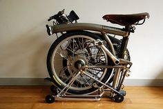 Brompton Folding Bike - RAW Color