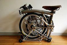 Brompton Folding Bike - RAW Color
