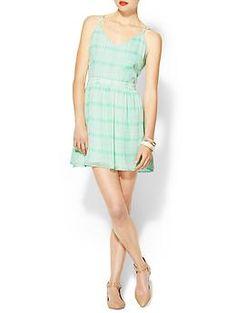 DV by Dolce Vita Hani Soft Plaid Dress