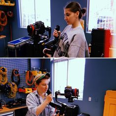 Interns Laura with us from Suffolk University and Benson with us from Emerson College take the Zhiyun-Tech Crane 3 and Canon for a spin. Suffolk University, Emerson College, Crane, Workplace, Spin, Tech, Technology
