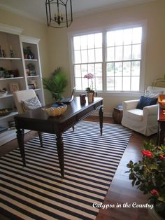 Calypso In The Country: One Room Challenge - The Office {Reveal}