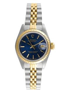 Rolex Two Tone Datejust Watch, 25mm from Vintage Rolex Watches on Gilt