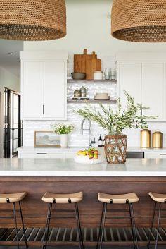 Home Decor Kitchen, Kitchen Interior, Home Kitchens, Kitchen Ideas, Diy Kitchen, Kitchen Hacks, Kitchen Designs, Diy Interior, Modern Kitchens