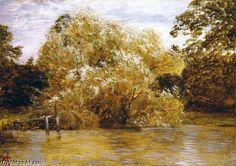 Abingdon Before The Storm de George Vicat Cole (1833-1893, United Kingdom)