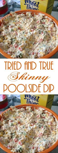 It uses lots of veggies and low fat ingredients so I did not feel guilty snacking on it. I will for sure be making this in the summer when I am actually poolside! snacks, Tried and True Skinny Poolside Dip Pool Snacks, Boating Snacks, Healthy Recipes, Healthy Snacks, Dip Recipes, Recipies, Healthy Low Fat Meals, Easy Recipes, Low Fat Snacks