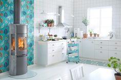 Contura 596T Style med støpejernsdør | Varmefag - spesialister på peiser og ovner.