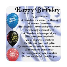 Happy Birthday Grandson Quotes for Trending 2020 - Birthday Ideas Make it Happy Birthday Brother Poems, Grandson Birthday Quotes, Happy Birthday Drinks, Grandson Quotes, Happpy Birthday, Son Poems, Birthday Verses, Happy Birthday Best Friend, Birthday Wishes For Myself