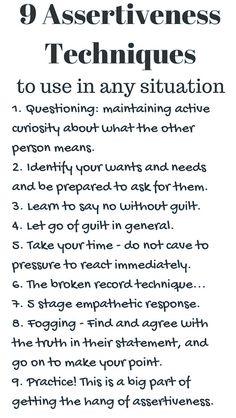 Develop Effective Communication Skills with These Assertive Workplace Tips Coping Skills, Social Skills, Life Skills, Assertive Communication, Effective Communication Skills, Assertiveness, Codependency, Self Care Activities, Therapy Activities