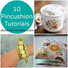 10 Clever Pincushion Tutorials
