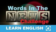 News word: chaos. This short word can mean big trouble. In this vocabulary lesson we learn how this word is used in the news. Learn English Words, English Lessons, Learning English, Short Words, New Words, Word Chaos, Vocabulary Builder, Word Challenge, Improve Your English