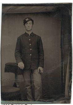 Patrick Fraher/Fryher Civil War Veteran - tin type photo