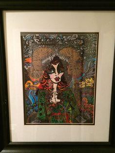 PRINT AVAILABLE original drawing sold by Stormi at AlabasterandObsidian