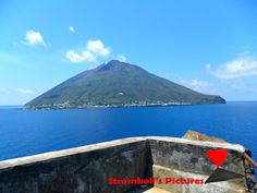 #Stromboli seen from the top of #Strombolicchio.