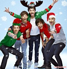 Christmasy One Direction