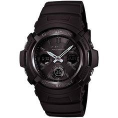 G-SHOCK AWGM100B-1A Black   Casio