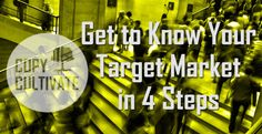 Need help defining your target market? Visit our blog and check out 'Get to Know Your target Market in 4 Steps'.